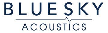 Blue Sky Acoustics Logo